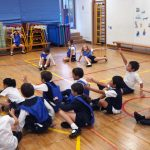 Andy Barrow delivers an inclusive physical education lesson