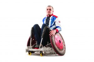 Inspiration - Andy Barrow in GB Tracksuit