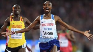 Mo Farah Gold at London 2017