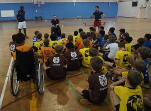An inclusive sport lesson at international schools
