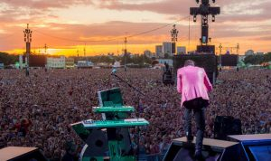 The Killers rock the British Summer Time festival
